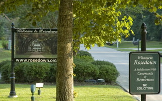 Rosedown Homeowners Association Message Boards